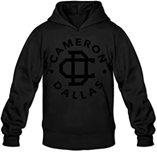 Caili Men's Cameron Dallas Logo Hoodies Sweatshirts