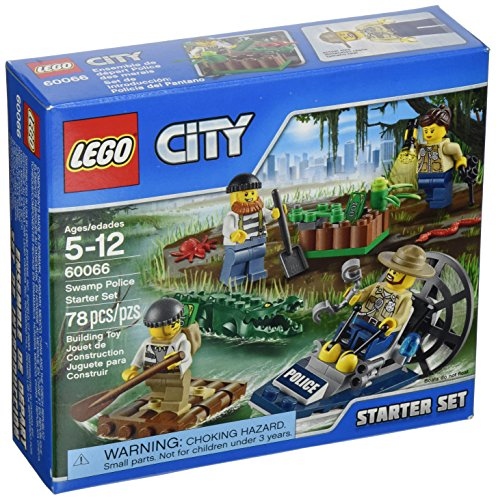 LEGO, City, Swamp Police Starter Set (60066)