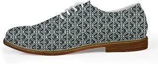 TecBillion Construction Comfortable Leather Shoes for Men,US Size 8