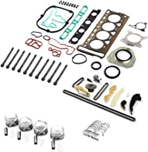 BoCID Cylinder Head Overhaul Rebuild Kit For VW Passat CC AUDI A4 A5 1.8 TFSI CDH CDA