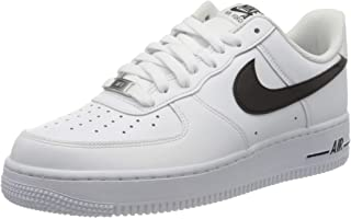 Men's AIR Force 1 '07 Casual Shoes (9, White/Black)