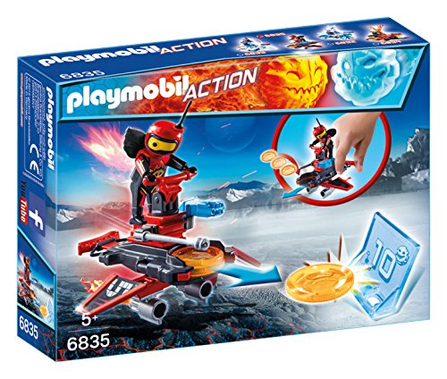 Playmobil Fire   Action  Robot con Nave