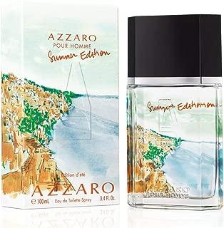 Azzārŏ Pŏur Hŏmme Summėr Edition Cologne for Men 3.4 fl. Oz / 100 ml Eau De Toilette Spray