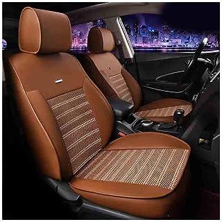 JKHOIUH Protector de cinturón de seguridad universal impermeable/a prueba de sudor - El mejor protector de asientos de coche de seda antideslizante - Perfecto for Benz BMW Audi Accord Tiguan Cubiert