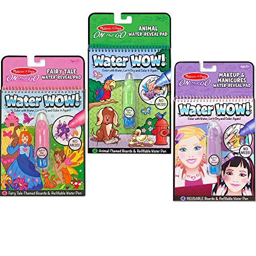 Melissa & Doug On-the-Go Water Wow! – 3 Pack Only $8.66