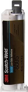 3M Scotch-Weld Low Odor Acrylic Adhesive DP8805NS, Green, 45 mL Duo-Pak