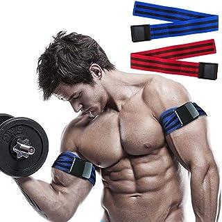 アームビルダー アームブラスター 快適な腕のトレーニング オクルージョンバンド 2パック 血流制限トレーニング