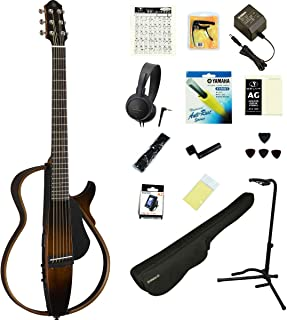 YAMAHA / SLG200S TBS (タバコブラウンサンバースト) 【これで完璧!18点フルセット】 ヤマハ サイレントギター アコースティックギター スチール弦仕様 SLG-200S