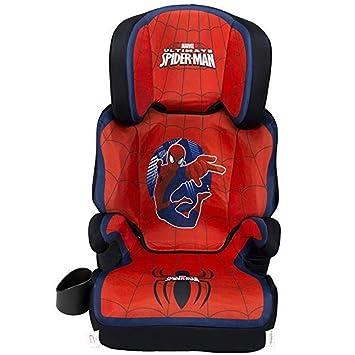 KidsEmbrace High-Back Booster Car Seat, Marvel Spider-Man: image