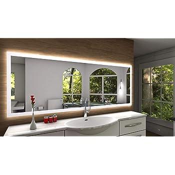 Badspiegel Designo Ma4110 Mit A Led Beleuchtung B 140 Cm X