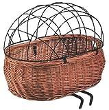 Basil Cesta-Rd para Animales Pluto Mimbre Color Na