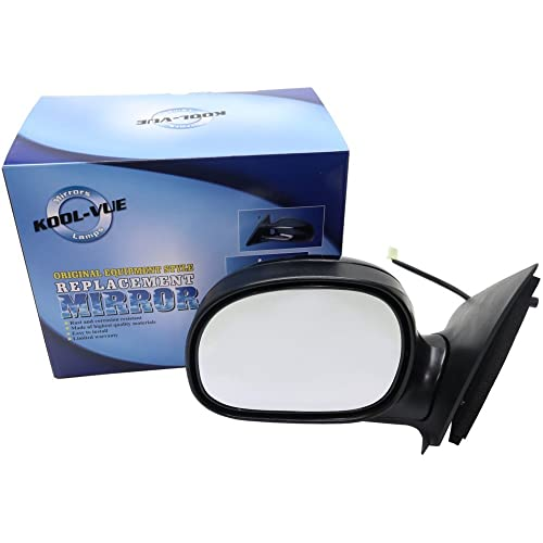 Kool Vue FD40EL Ford F-Series Extended/Standard Cab Driver Side Mirror, Paint
