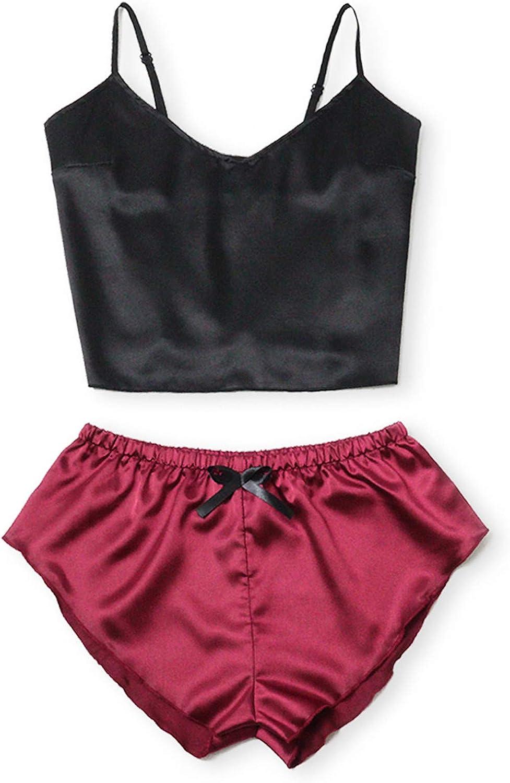VonVonCo Sexy Lingerie for Women Naughty Underwear See-Through Pajamas Thin Satin Seductive Pajamas Nightgown