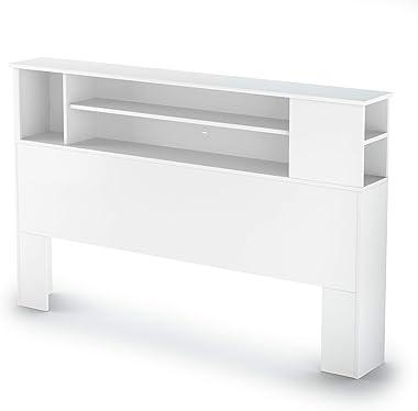 South Shore Furniture headboard, Full/Queen, Pure White