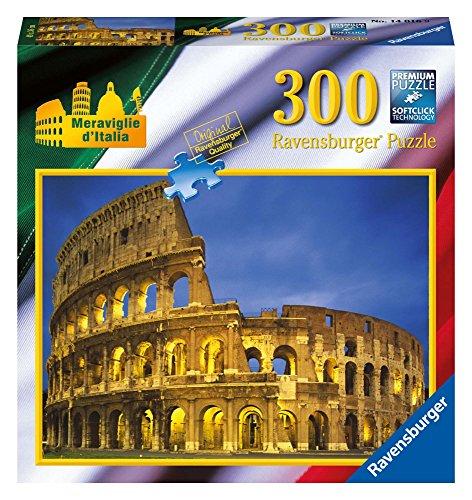 Ravensburger 14016 Colosseo, Roma Puzzle 300 pezzi Meraviglie d'Italia