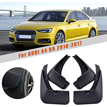 Maite For Audi A4 B8 2008-2013 Car Front and Rear Mud Flaps Splash Guards Fender Mudguard 4Pcs