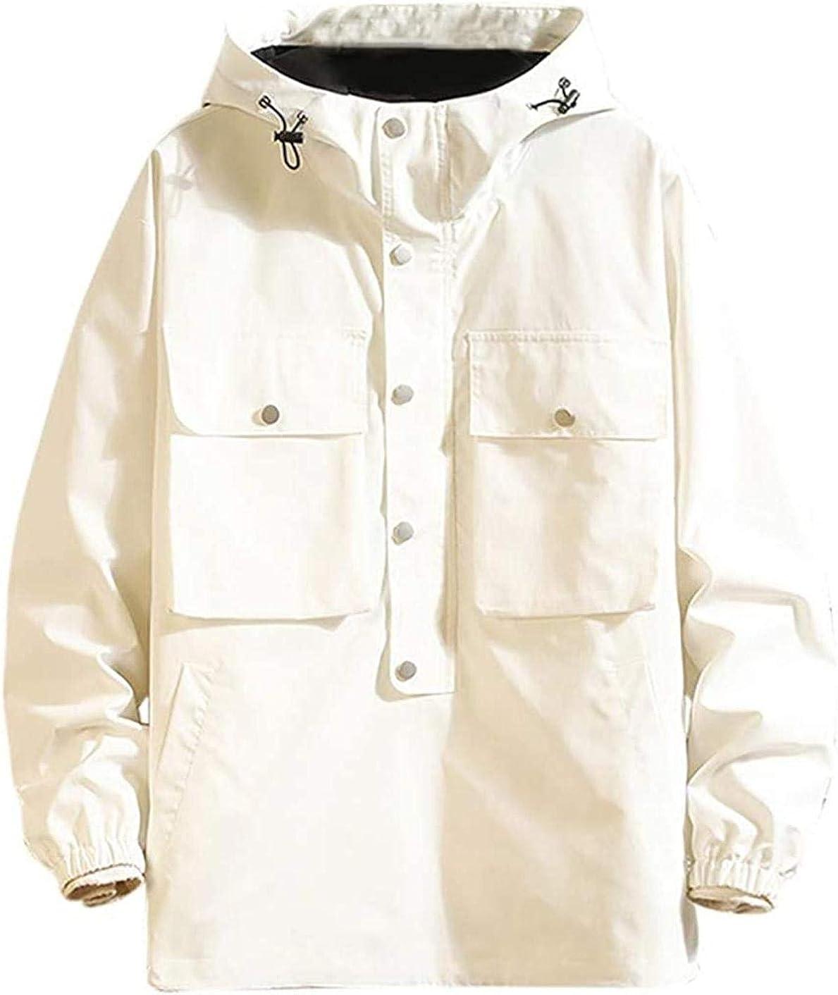 Men's Pullover Zipper Hoodies Jacket Sale price Coat Autum Super beauty product restock quality top for Pocket Multi