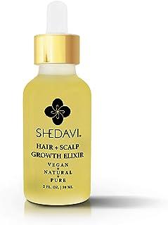 Sponsored Ad - Vegan Healthy Hair Growth Oil Serum With Botanicals Argan Oil Coconut Oil Castor Oil Tea Tree Oil And Grape...