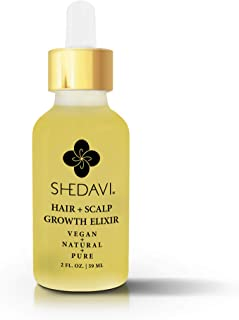 Vegan Healthy Hair Growth Oil Serum With Botanicals Argan Oil Coconut Oil Castor Oil Tea Tree Oil And Grape Seed Oil For Natural Hair Growth and Hair Loss Infused With MSM And Bamboo