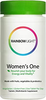 Rainbow LIght - Women's One Multivitamin, One-a-Day Support for Bone and Breast Health, Helps Balance Hormones and Stress ...