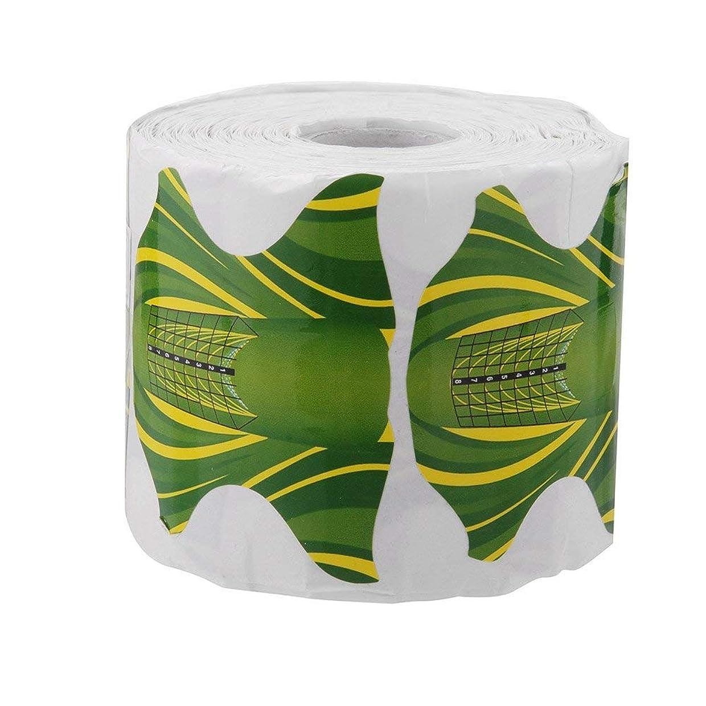 けん引魅了するフィヨルドSemoic 500本 ネイルアート アクリル チップ ガイドゲル エクステンション ネイルスタイルのツール ネイルケア