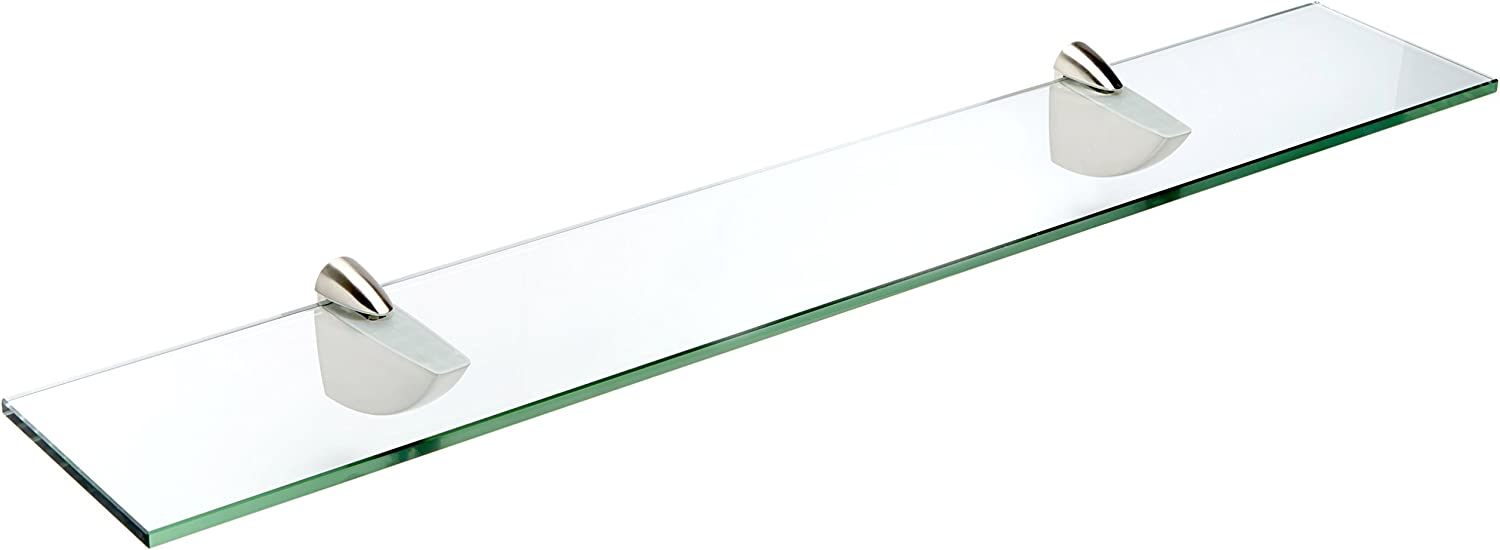 Spancraft Glass Oriole Shelf Brushed x Steel shopping 12 Max 41% OFF 24