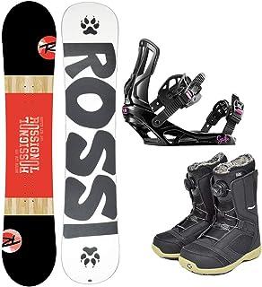 ROSSIGNOL(ロシニョール) レディース スノーボード 3点セット板 ボード バインディング ブーツ MYTH LTD ロッカー キャンバー スノボ r-board-set-g