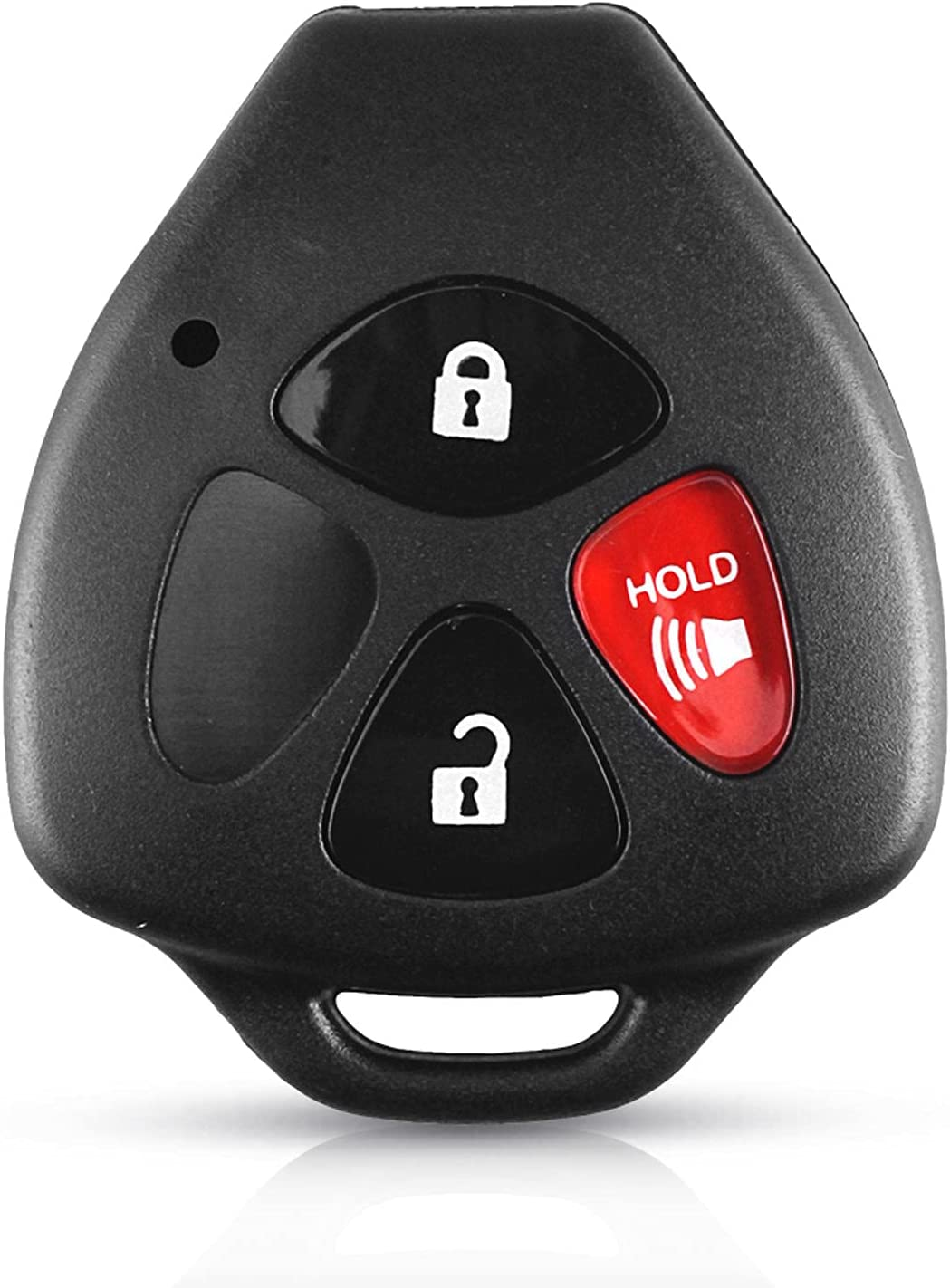 FLJKCT Car Key Shell Lowest price challenge 2 5% OFF 3 Buttons Remote for Toyo 4