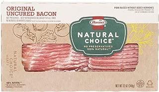 Hormel Natural Choice Uncured Bacon, Original, 12 Ounce