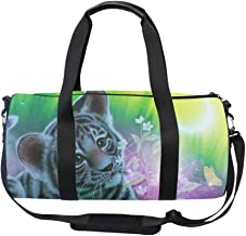Oversized Tiger Forest In India Travel Tote Luggage Weekend Duffel Bag