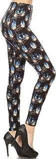 Leggings Depot Women's Ultra Soft Printed Fashion Leggings BAT18