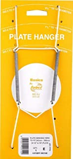 White Plastic Coated Plate Spring Flexible Wire Wall Hanger Holder Wall Display (No.2 Wire: 7.5