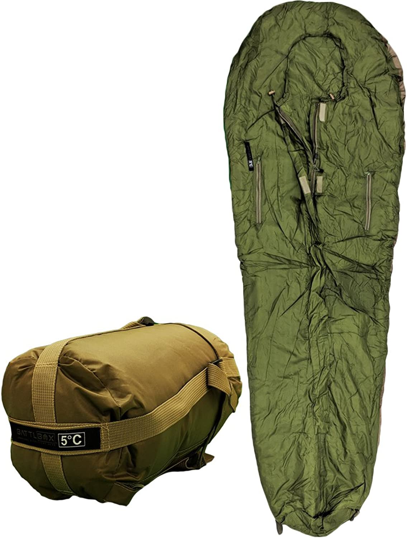 BATTLBOX Tropical ThreeSeason Sleeping Bag 5C 41F Lightweight and