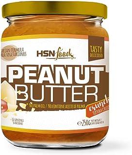 Mantequilla de Cacahuete de HSN | Textura Crujiente - Peanut