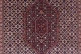 Bidjar 175x243 cm Handgeknüpft Braun Geometrisch Teppich 170x240 - 9