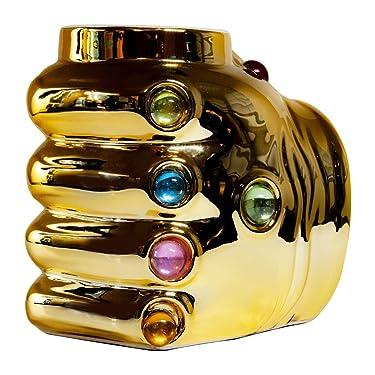 Marvel Avengers Thanos Infinity Gauntlet Ceramic Coffee Mug  20 Oz