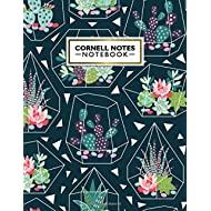 Cornell Notes Notebook: Cute Cornell Note Paper Notebook. Nifty Large College Ruled Medium Lined...