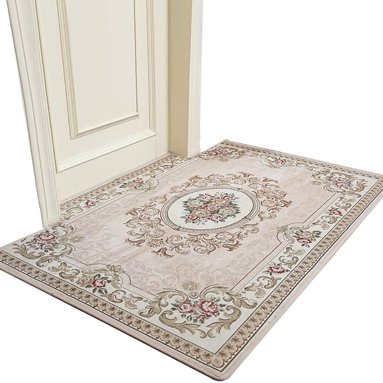 JIAJUAN Doormat Anti-Slip Area Rug Floor Dirt Trapper Mats Contemporary Home Easy to Clean Entryway Door Mat (color   Beige, Size   120x180cm)