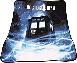 Doctor Who Throw Blanket - TARDIS Gallifrey Fleece - 50