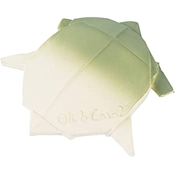 Enhance Imaginative Play Origami Boat Oli /& Carol Pink Natural Rubber Float