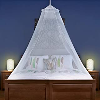 Universal Backpackers Mosquito Net for Single to King Size Beds - Quality Lightweight Materials, for Home and Travel - Eas...