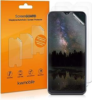 kwmobile 3x pellicola salvaschermo compatibile con Samsung Galaxy A20e - Film protettivo proteggi telefono - protezione an...