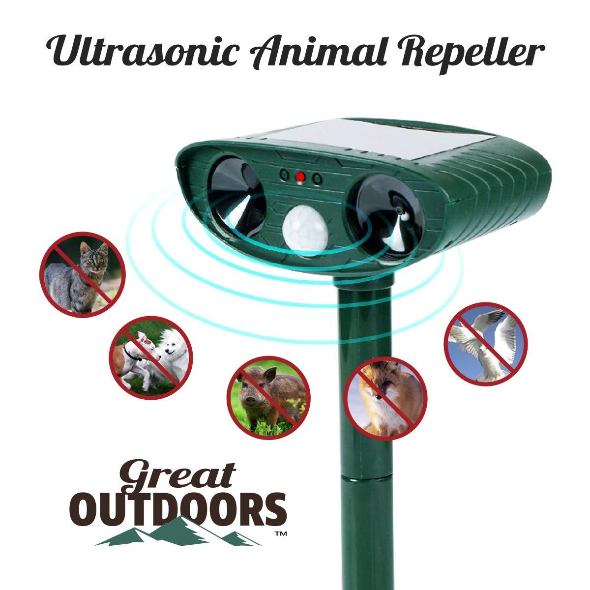 Great Outdoors Ultrasonic Animal Repeller