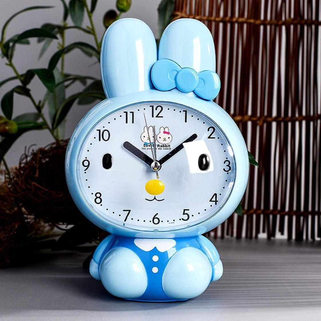戦い道に迷いました欲求不満目覚まし時計創造的な学生のベッドサイドミュート多機能時計学生を話している漫画目覚まし時計少年
