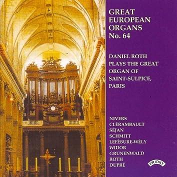 Great European Organs No. 64: Saint Sulplice, Paris