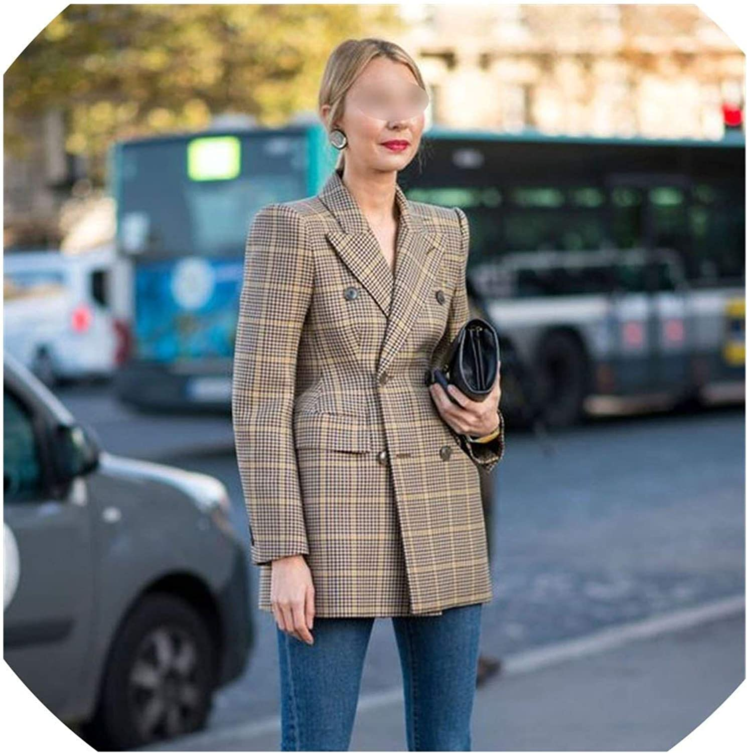 WBeauty Cotton Material Suit Jacket Female Coat Fashion Clothing