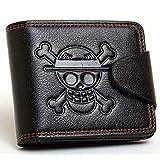 ワンピース 海賊王 二つ折り財布 麦わら海賊団 ルフィwallet コレクション プレゼント