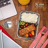 Zoom IMG-1 set di 4 contenitori alimentari