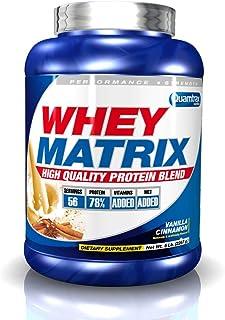 Quamtrax Nutrition Whey Matrix. Sabor Leche Merengada - 2270 gr