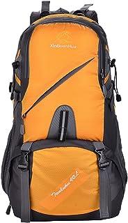 Mochila de Alpinismo Mochila de montañismo Viaje caminando Camping Nylon Bolsa para computadora portátil Camping Viaje de ocio Neutral Hombros multifuncionales adecuados para uso en exteriores Montañi